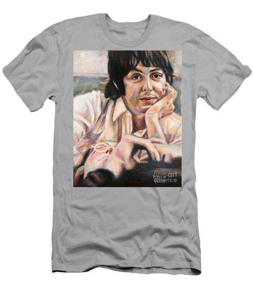 Paul And John Men's T-Shirt (Athletic Fit)