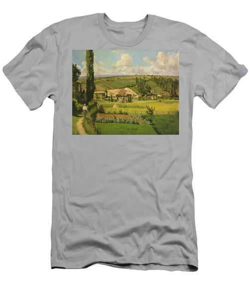 Paysage Aux Patis, Pointoise Men's T-Shirt (Athletic Fit)