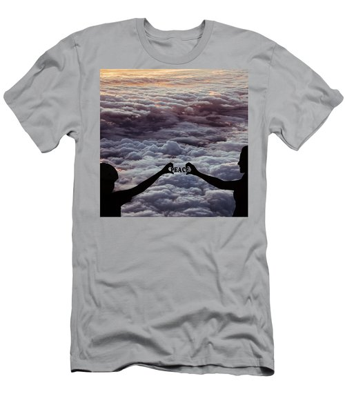 Men's T-Shirt (Athletic Fit) featuring the photograph Peace - Digital Art by Ericamaxine Price