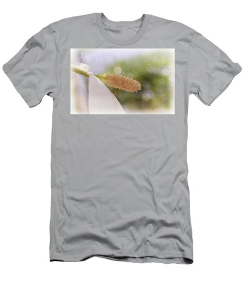 Peace Lily Men's T-Shirt (Athletic Fit)