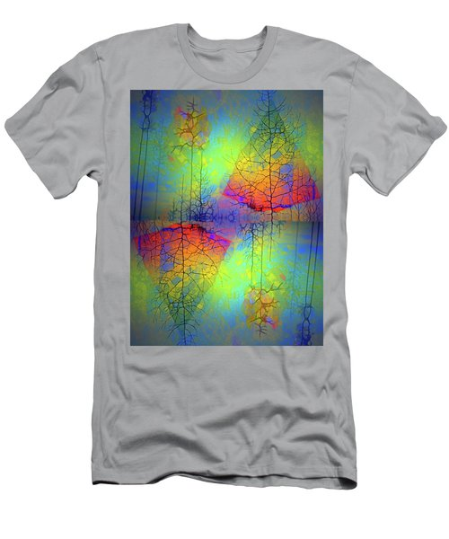 Men's T-Shirt (Slim Fit) featuring the photograph Peace, Love And Happiness by Tara Turner