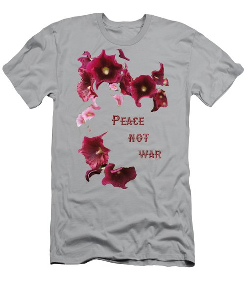 Peace Not War Men's T-Shirt (Slim Fit) by David and Lynn Keller