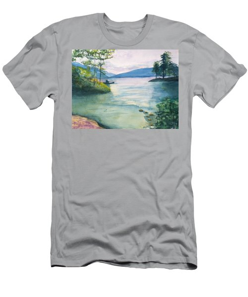 Peace On The Water  Men's T-Shirt (Athletic Fit)