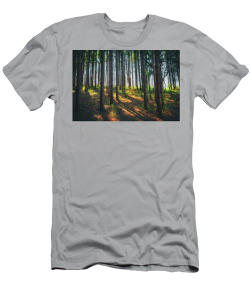 Peaceful Forest - Spring At Retzer Nature Center Men's T-Shirt (Slim Fit) by Jennifer Rondinelli Reilly - Fine Art Photography