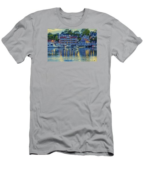 Peaceful Harbor Men's T-Shirt (Athletic Fit)