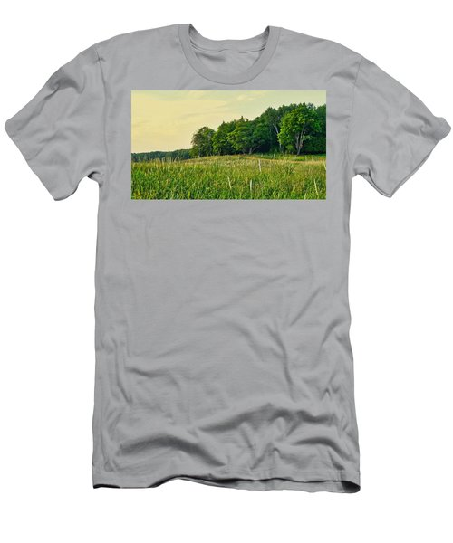 Peaceful Pastures Men's T-Shirt (Athletic Fit)