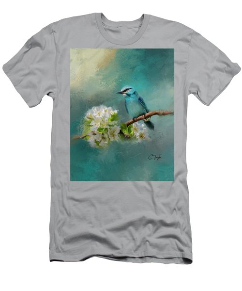 Peaceful Symphony  Men's T-Shirt (Slim Fit) by Colleen Taylor