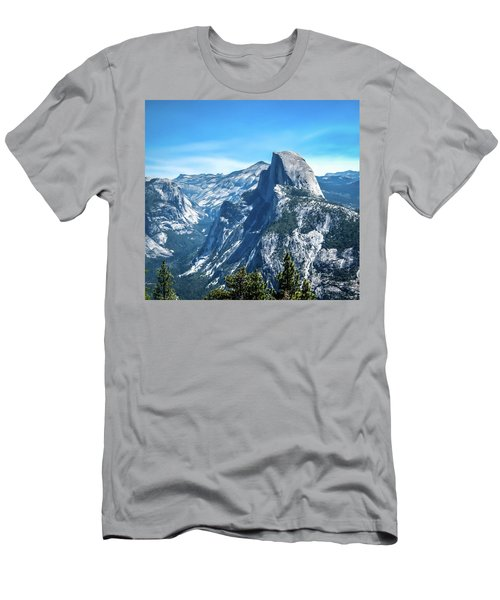Peak Of Half Dome- Men's T-Shirt (Athletic Fit)