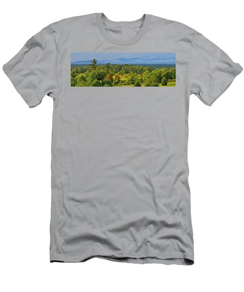 Peaks Of Otter After The Rain Men's T-Shirt (Slim Fit) by The American Shutterbug Society