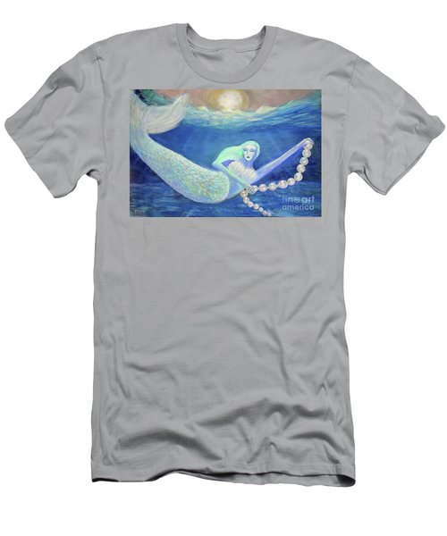 Pearl Of The Sea Men's T-Shirt (Athletic Fit)
