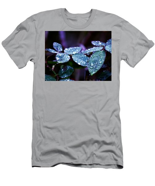 Pearls Of Nature Men's T-Shirt (Slim Fit) by Bernd Hau