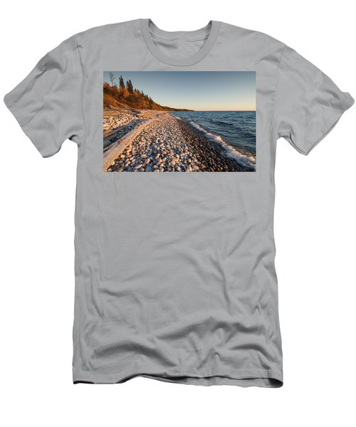 Pebble Beach Autumn    Men's T-Shirt (Athletic Fit)