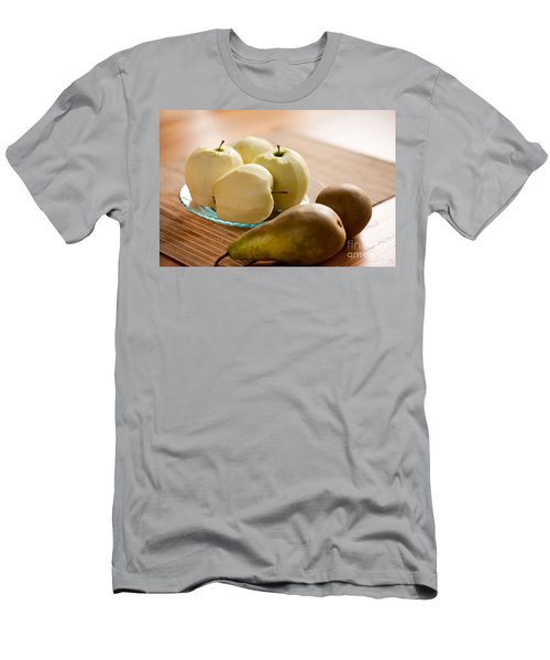 Peeled Apples And Pears Men's T-Shirt (Athletic Fit)