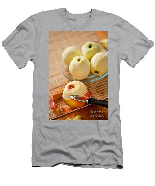 Peeling Apples Tool Fresh Fruit Men's T-Shirt (Athletic Fit)