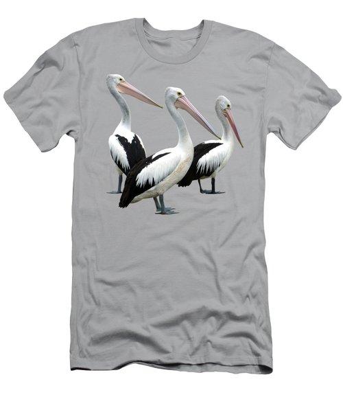 Pelican Beach Men's T-Shirt (Athletic Fit)