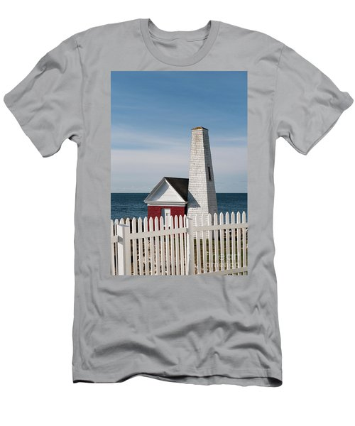 Pemaquid Bell House Men's T-Shirt (Athletic Fit)