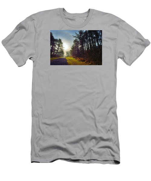 Pembrey Country Park 1 Men's T-Shirt (Athletic Fit)