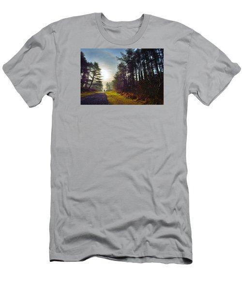 Pembrey Country Park 1 Men's T-Shirt (Athletic Fit)