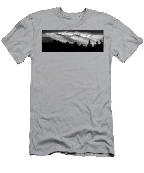 Men's T-Shirt (Slim Fit) featuring the photograph Pemigewasset Wilderness by Bill Wakeley