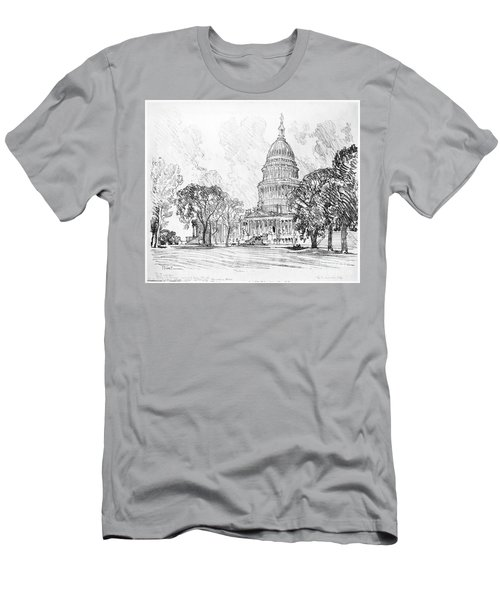 Pennell Capitol, 1912 Men's T-Shirt (Slim Fit) by Granger