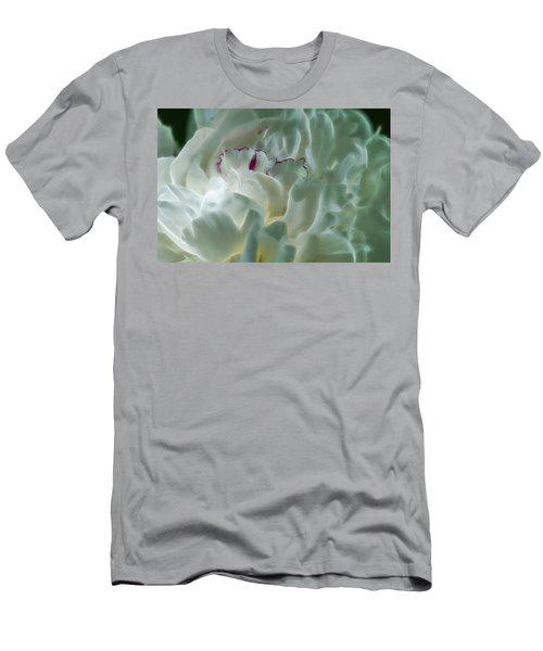 Peony Flower Energy Men's T-Shirt (Athletic Fit)