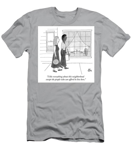 People Who Can Afford To Live Here Men's T-Shirt (Athletic Fit)