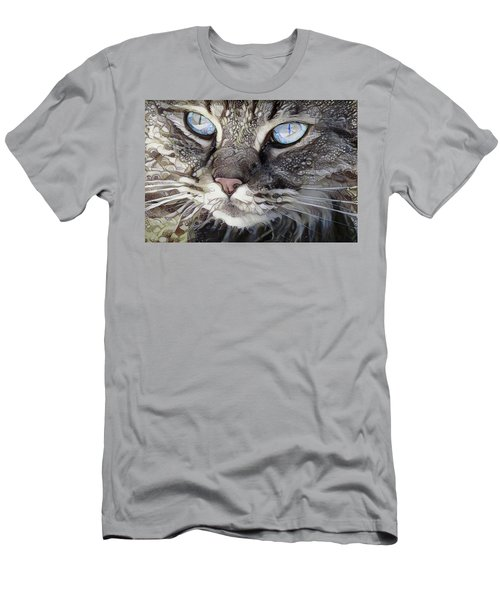 Perry The Persian Cat Men's T-Shirt (Athletic Fit)