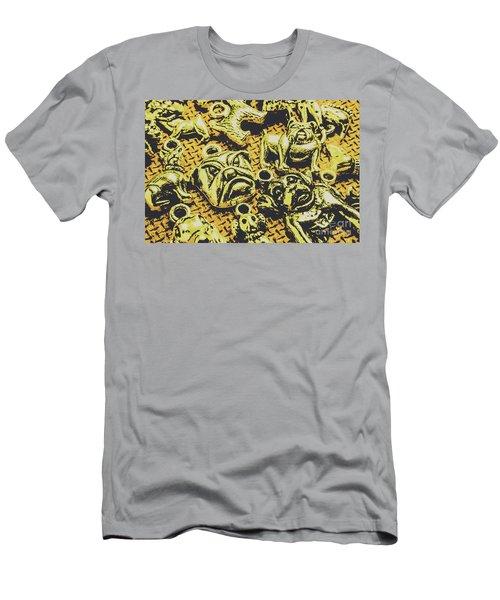 Pet Pendant Dogs Men's T-Shirt (Athletic Fit)