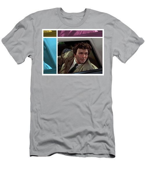 Peter Falk 1973  Men's T-Shirt (Slim Fit) by Udo Linke