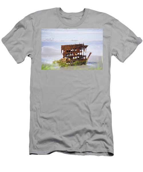 Peter Iredale Men's T-Shirt (Slim Fit) by Angi Parks
