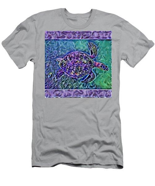 Phillis The Turtle Men's T-Shirt (Slim Fit) by Erika Swartzkopf