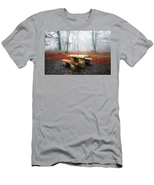 Picnic Of Fog Men's T-Shirt (Athletic Fit)