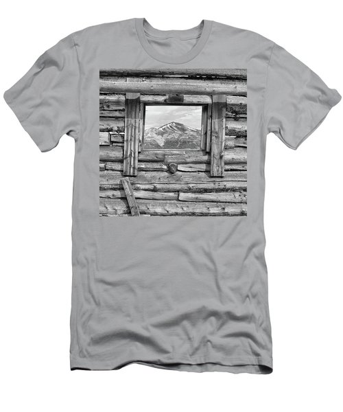 Men's T-Shirt (Slim Fit) featuring the photograph Picture Window #2 by Eric Glaser