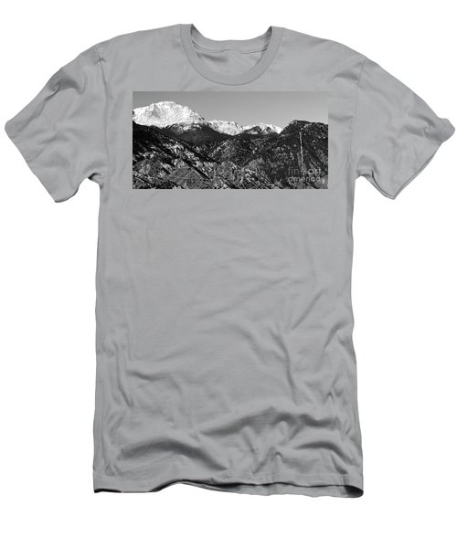 Pikes Peak And Incline 36 By 18 Men's T-Shirt (Athletic Fit)