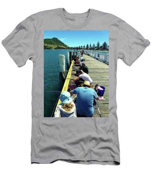 Pilot Bay Beach 6 - Mount Maunganui Tauranga New Zealand Men's T-Shirt (Athletic Fit)