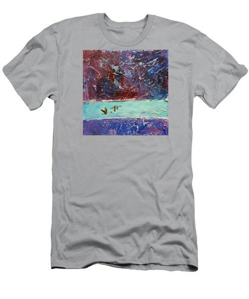Pin Tails Men's T-Shirt (Slim Fit) by David  Maynard