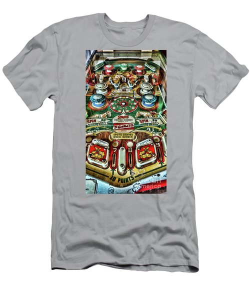 Pinball Machine Gottliebs Corral Play Board Men's T-Shirt (Athletic Fit)