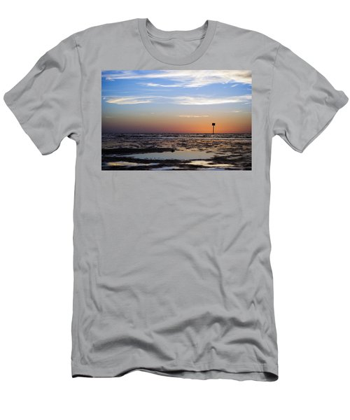 Pine Island Sunset Men's T-Shirt (Athletic Fit)
