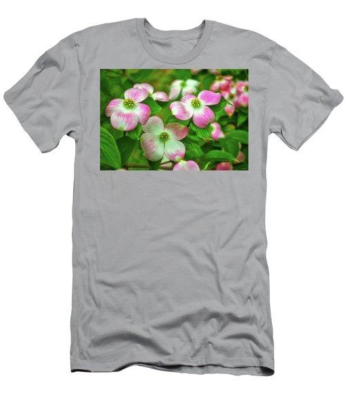 Pink Dogwoods 003 Men's T-Shirt (Athletic Fit)