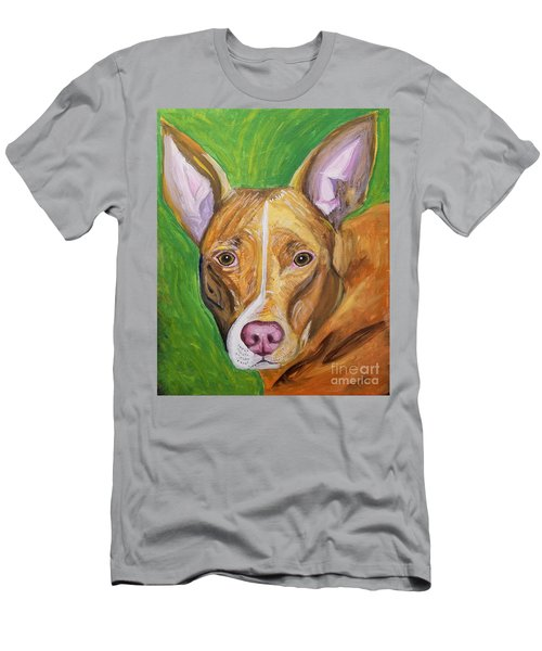 Pink Nose Men's T-Shirt (Slim Fit) by Ania M Milo