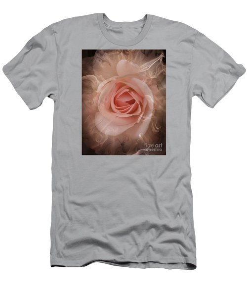 Pink Smokey Men's T-Shirt (Slim Fit) by Clare Bevan