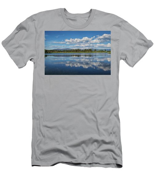 Pinon Lake Reflections Men's T-Shirt (Athletic Fit)