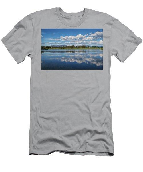 Pinon Lake Reflections Men's T-Shirt (Athletic Fit)
