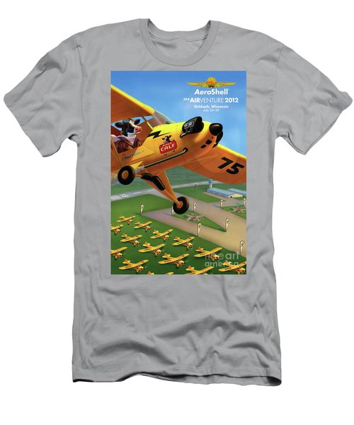 Piper Aircraft Poster  Men's T-Shirt (Athletic Fit)