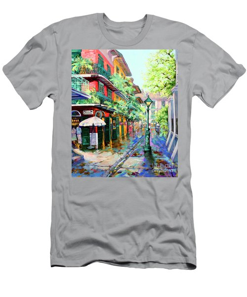 Pirates Alley - French Quarter Alley Men's T-Shirt (Athletic Fit)