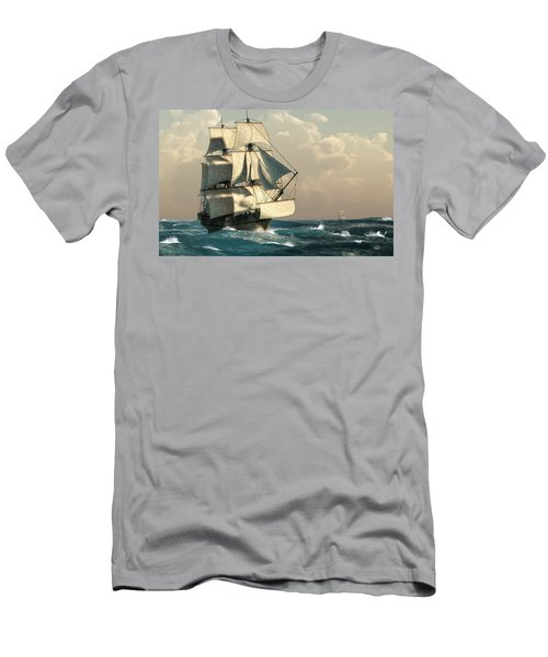 Pirates On The High Seas Men's T-Shirt (Athletic Fit)