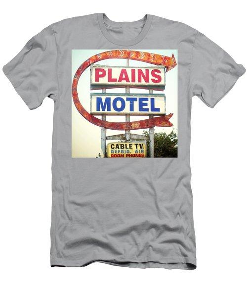 Plains Motel Men's T-Shirt (Athletic Fit)