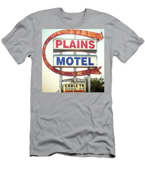 Plains Motel Men's T-Shirt (Athletic Fit)