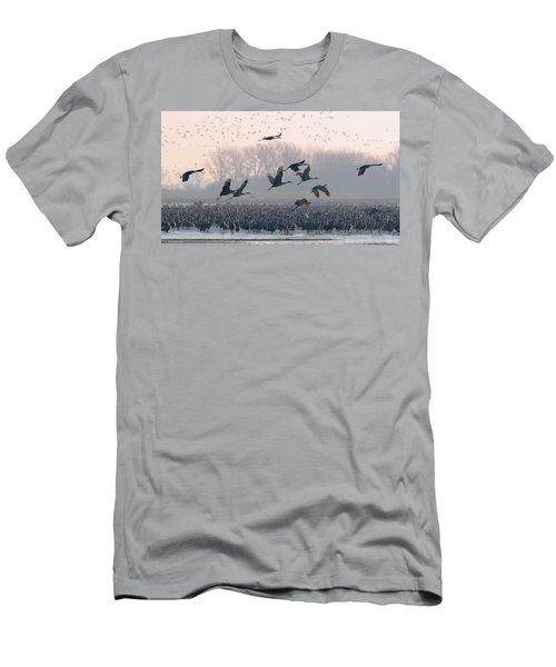Platte River Morn Men's T-Shirt (Athletic Fit)