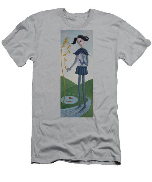 Plume Men's T-Shirt (Slim Fit) by Tone Aanderaa